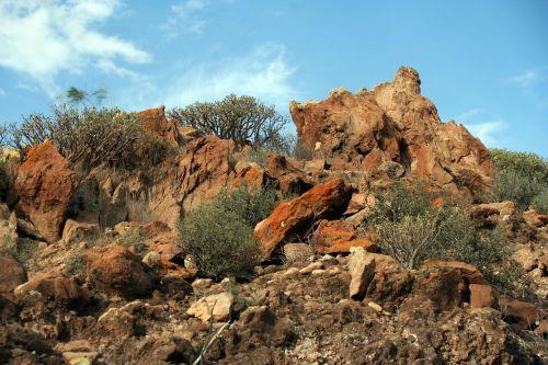 tenerife landscape rock