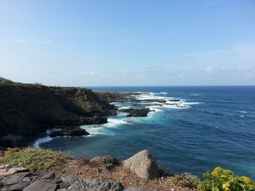 tenerife sea coast