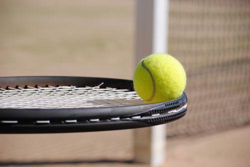 tenisas,rutulys,teniso aikštelė,teniso kamuoliukas,Sportas,šikšnosparnis