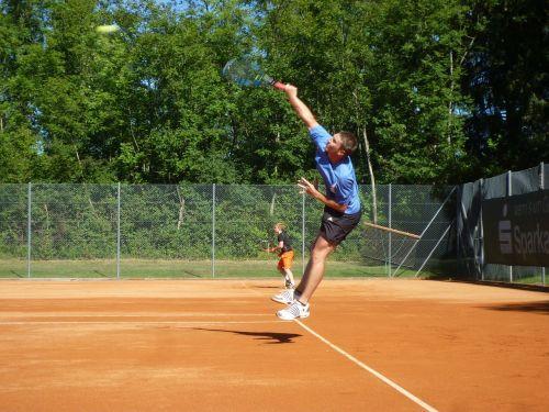 tennis volley sport