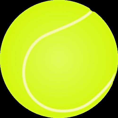 tennis tennis ball ball