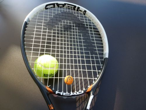 tennis tennis ball tennis racket