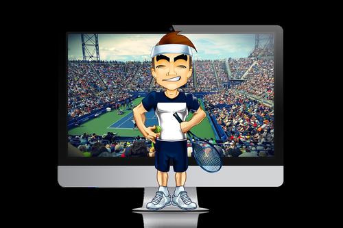tennis  sport  tennis ball