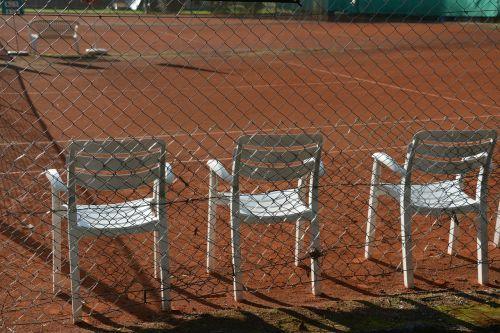tennis tennis court chairs