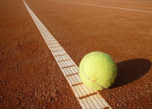 tennis ball tennis court tennis