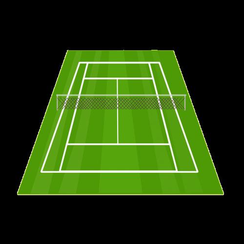 tennis court tennis net