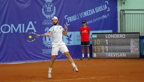 tennis player forehand tournament