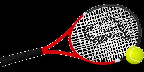 tennis racket tennis tennis ball