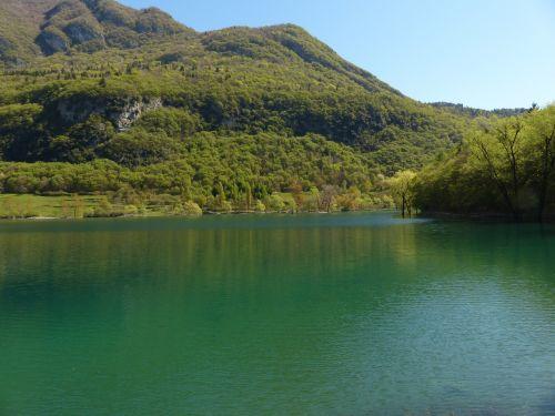 Tenno ežeras,ežeras,vandenys,italy,kraštovaizdis,gamta