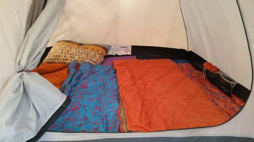 tent sleeping bags camping