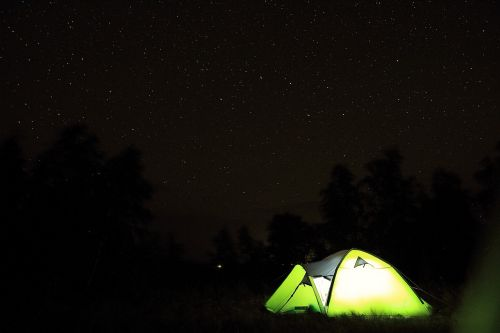 tent,tourism,starry sky,tents,nature,russia,vacation