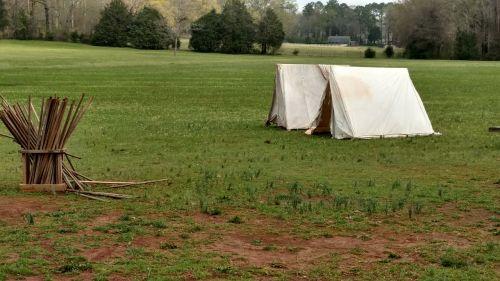 tent campsite nature