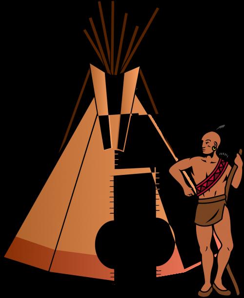 tent teepee home