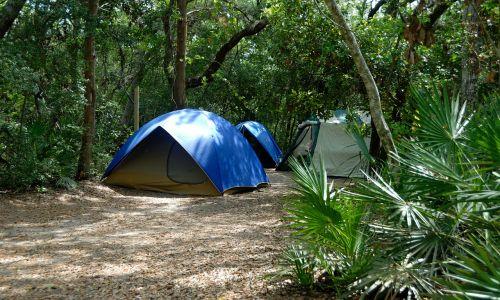 tent camping recreation fun