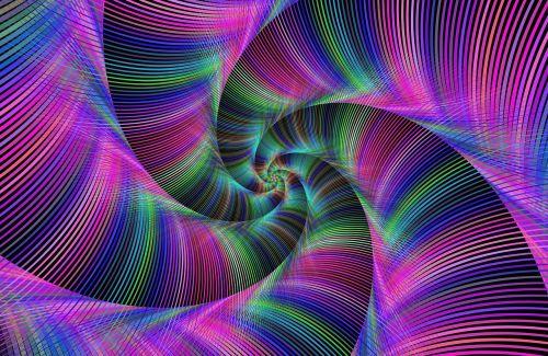 tentacle fractal spiral