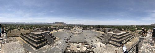 teotihuacan  mexico city  pyramid