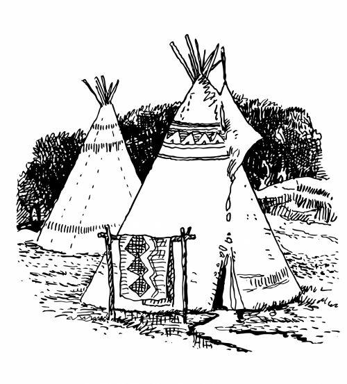 Tepee, Wigwam Clipart