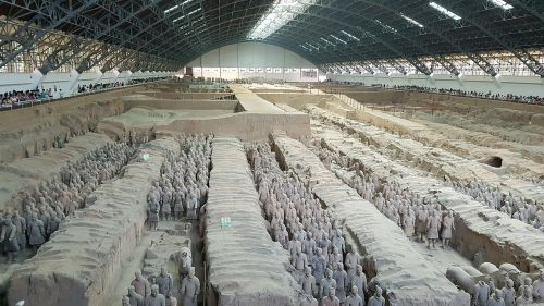 terracotta sat disease mausoleum of the first qin emperor