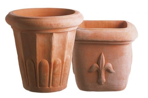 terracotta pots flower pots