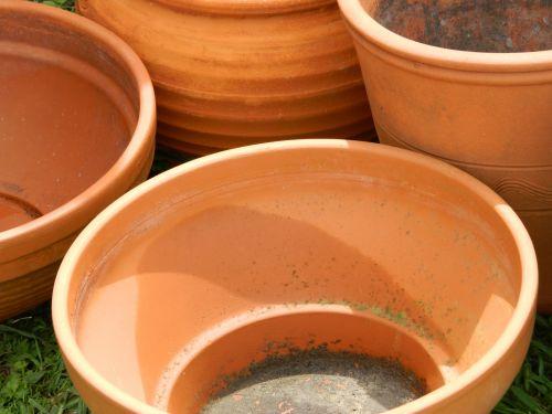 sodas & nbsp, puodai, puodai, terakotos ir plytelės, sodas, terakotos sodo puodeliai