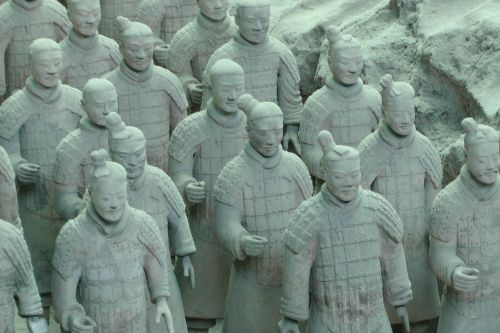terracotta warriors china ancient