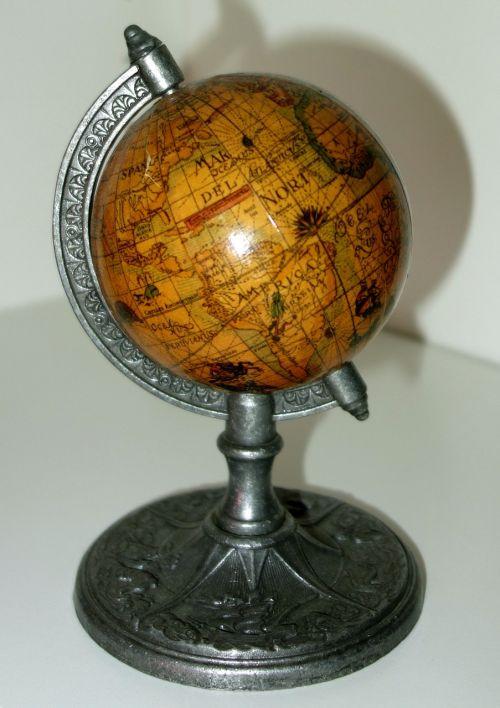 terrestrial globe world map earth