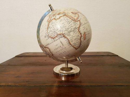 terrestrial globe africa globe