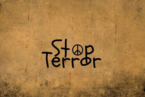 terror stop stop terror