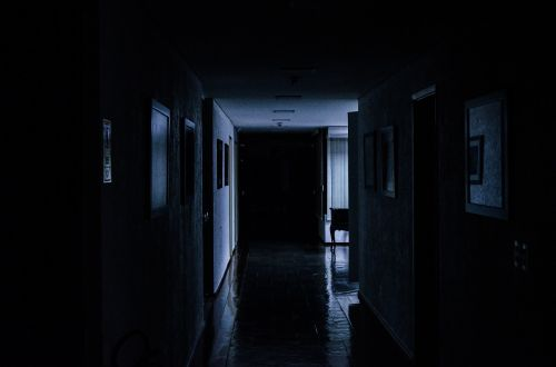 hall office darkness