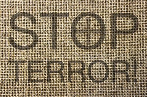 terrorism terror stop