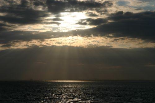 terschelling sunset sky