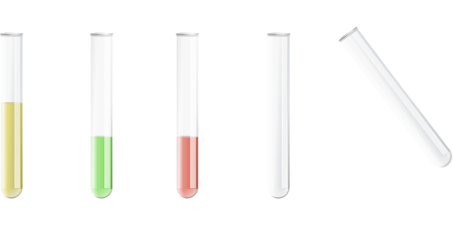 test glass test tubes chemistry