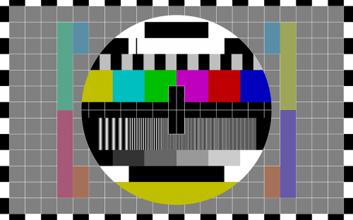 test pattern tv tv test pattern
