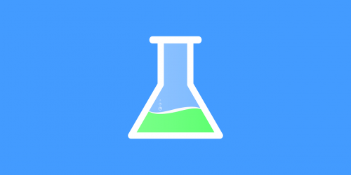 test tube erlenmeyer flask chemistry