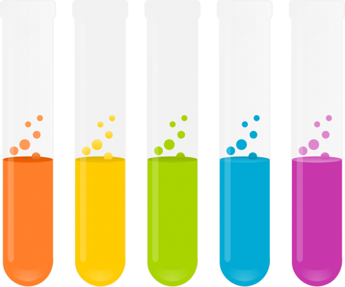test tubes reagents chemistry
