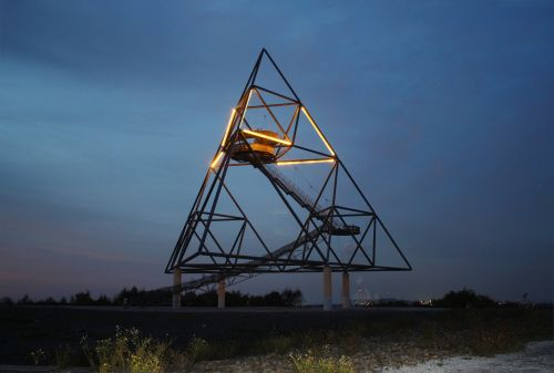 tetrahedron bottrop germany dump