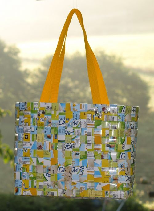bag recycle woven