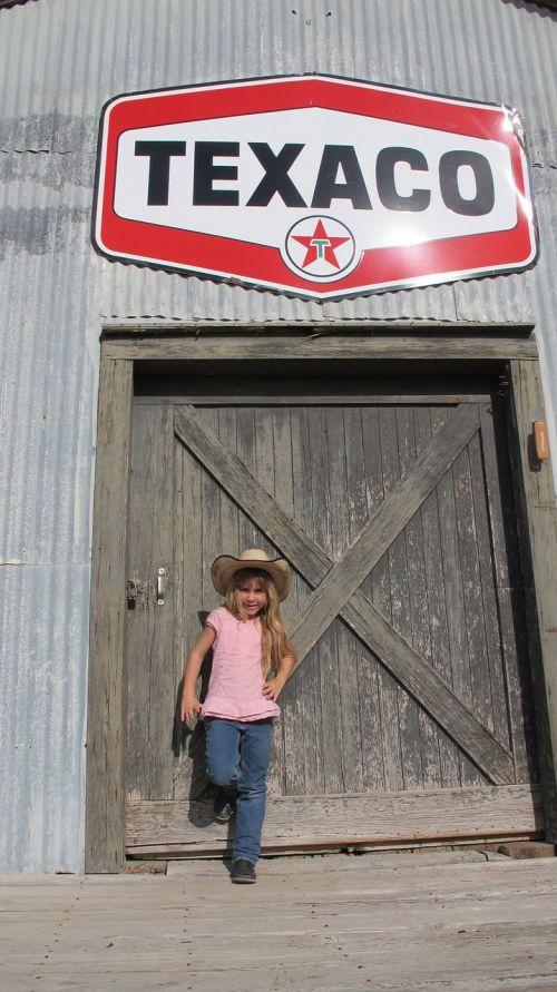 texaco old west tin warehouse