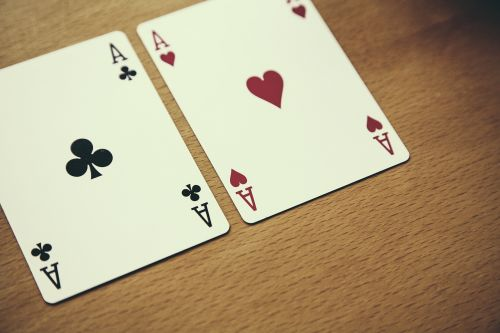 texas hold'em poker ace