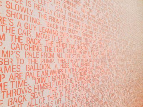 text typography art
