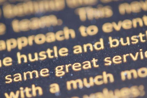 text typography quotation