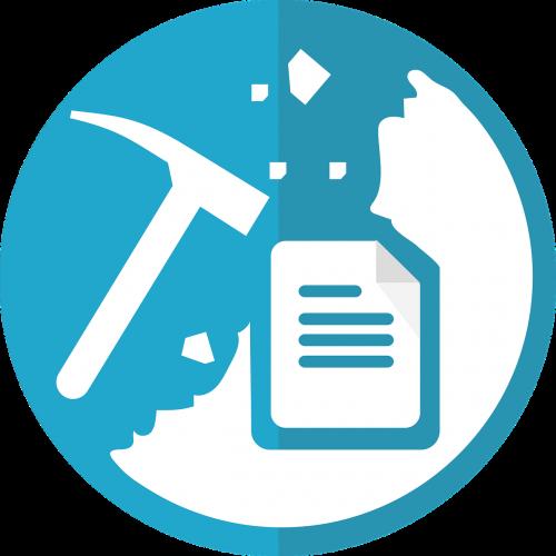 text mining icon data mining icon mining icon