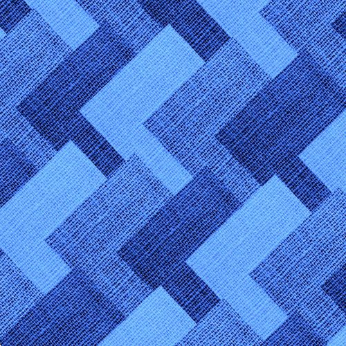 textile fabric blue