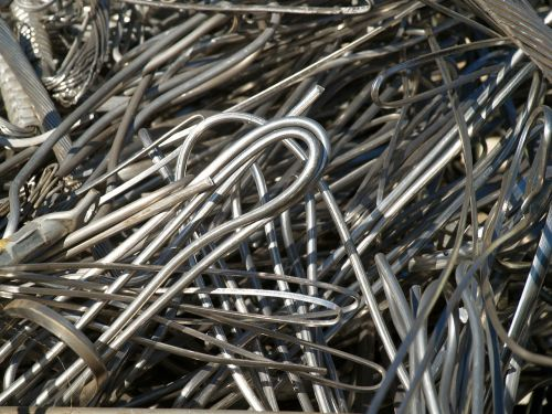 textura metal wire