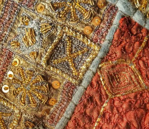 tekstūra,tekstilė,karoliukas,medžiaga,karoliukai,rankų darbo,rankdarbiai,amatų,oranžinė,rankdarbiai,etninis