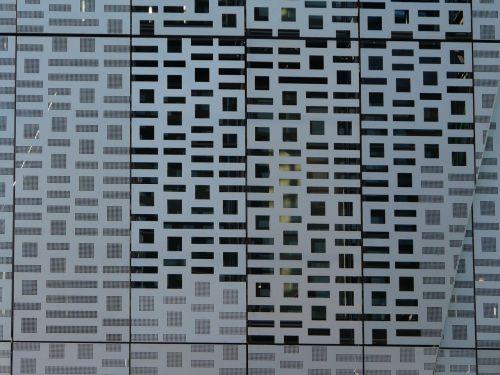 texture facade steel