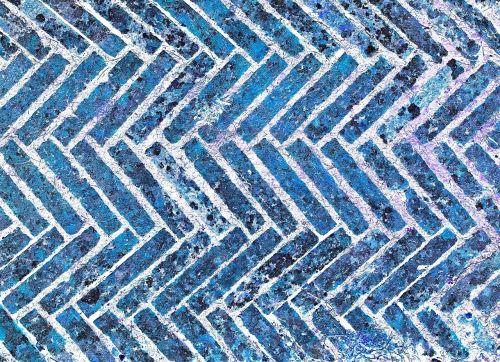 texture blue bricks