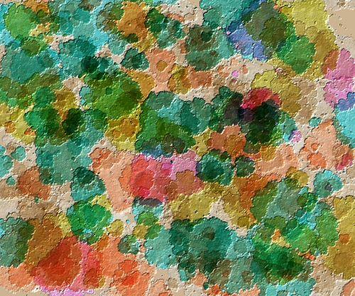 texture filling color rain
