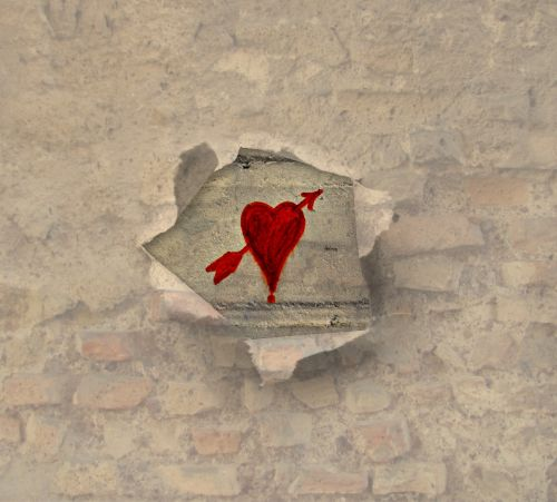 texture background heart