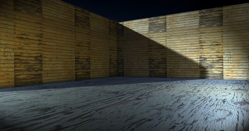texture wood stage design